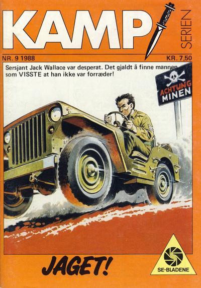 Cover for Kamp-serien (Serieforlaget / Se-Bladene / Stabenfeldt, 1964 series) #9/1988