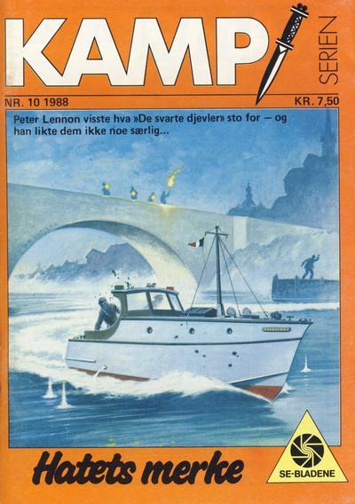 Cover for Kamp-serien (Serieforlaget / Se-Bladene / Stabenfeldt, 1964 series) #10/1988