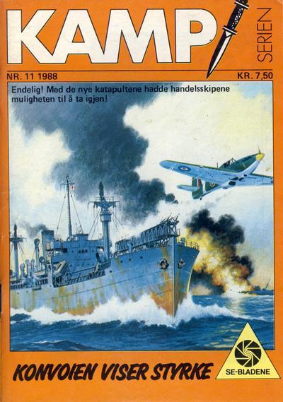 Cover for Kamp-serien (Serieforlaget / Se-Bladene / Stabenfeldt, 1964 series) #11/1988