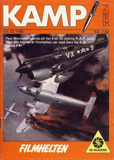 Cover for Kamp-serien (Serieforlaget / Se-Bladene / Stabenfeldt, 1964 series) #22/1988