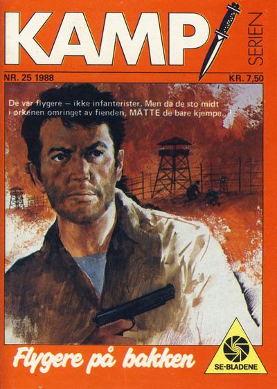 Cover for Kamp-serien (Serieforlaget / Se-Bladene / Stabenfeldt, 1964 series) #25/1988