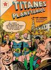 Cover for Titanes Planetarios (Editorial Novaro, 1953 series) #40
