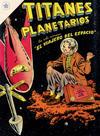 Cover for Titanes Planetarios (Editorial Novaro, 1953 series) #30