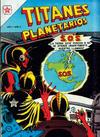 Cover for Titanes Planetarios (Editorial Novaro, 1953 series) #2