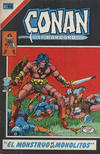 Cover for Conan el Bárbaro (Editorial Novaro, 1980 series) #18