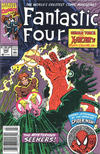 Cover Thumbnail for Fantastic Four (1961 series) #342 [Newsstand]