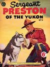 Cover for Sergeant Preston of the Yukon (World Distributors, 1953 series) #9