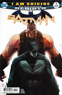 Cover for Batman (DC, 2016 series) #11