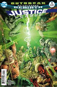 Cover Thumbnail for Justice League (DC, 2016 series) #9 [Fernando Pasarin / Matt Ryan Cover]