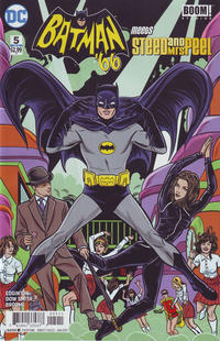 Cover Thumbnail for Batman '66 Meets Steed and Mrs. Peel (DC, 2016 series) #5