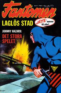 Cover Thumbnail for Fantomen (Semic, 1963 series) #3/1967