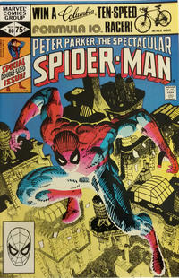 Cover Thumbnail for The Spectacular Spider-Man (Marvel, 1976 series) #60 [Direct]