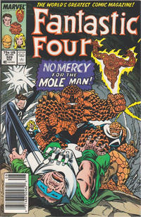 Cover for Fantastic Four (Marvel, 1961 series) #329 [Direct Edition]