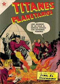 Cover Thumbnail for Titanes Planetarios (Editorial Novaro, 1953 series) #78