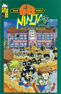 Cover Thumbnail for Small Bodied Ninja High School (Antarctic Press, 1992 series) #1