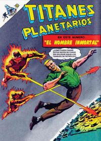 Cover Thumbnail for Titanes Planetarios (Editorial Novaro, 1953 series) #272