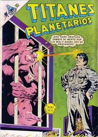 Cover Thumbnail for Titanes Planetarios (Editorial Novaro, 1953 series) #274