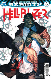 Cover Thumbnail for Hellblazer (DC, 2016 series) #4 [Variant Cover by Putri]