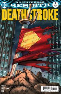 Cover Thumbnail for Deathstroke (DC, 2016 series) #7 [Shane Davis Cover]