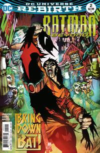 Cover for Batman Beyond (DC, 2016 series) #2
