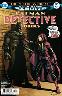 Cover Thumbnail for Detective Comics (DC, 2011 series) #945