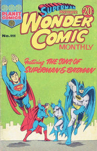 Cover Thumbnail for Superman Presents Wonder Comic Monthly (K. G. Murray, 1965 ? series) #111