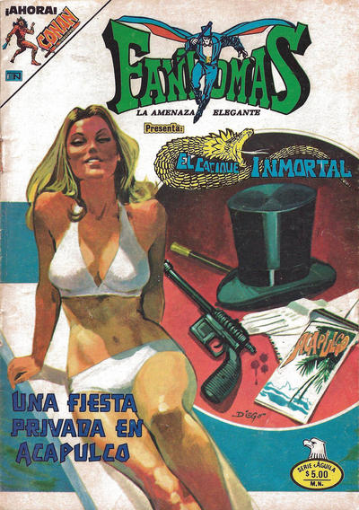 Cover for Fantomas (Editorial Novaro, 1969 series) #463