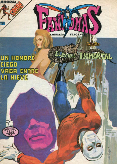 Cover for Fantomas (Editorial Novaro, 1969 series) #465