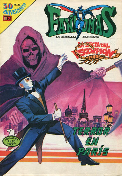 Cover for Fantomas (Editorial Novaro, 1969 series) #490