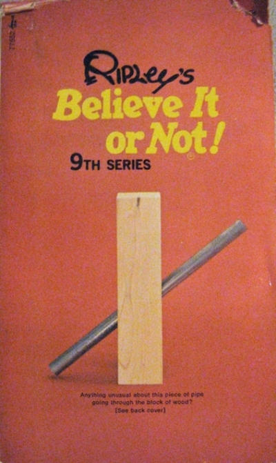 Cover for Ripley's Believe It or Not! (Pocket Books, 1941 series) #9