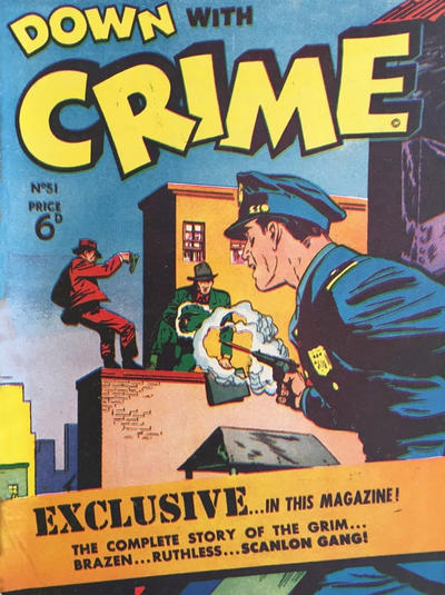Cover for Down with Crime (Arnold Book Company, 1952 series) #51