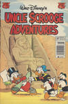 Cover for Walt Disney's Uncle Scrooge Adventures (Gladstone, 1993 series) #37 [Newsstand]