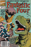 Cover Thumbnail for Fantastic Four (1961 series) #346 [Newsstand Edition]