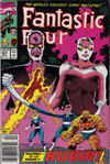 Cover Thumbnail for Fantastic Four (1961 series) #351 [Newsstand]