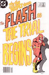Cover Thumbnail for The Flash (1959 series) #340 [Newsstand Variant]
