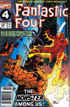 Cover Thumbnail for Fantastic Four (1961 series) #357 [Newsstand Edition]