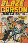 Cover for Blaze Carson Comics (Superior Publishers Limited, 1948 series) #3
