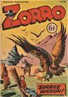 Cover for Zorro (L. Miller & Son, 1952 series) #61
