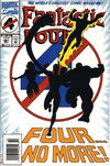 Cover Thumbnail for Fantastic Four (1961 series) #381 [Newsstand]