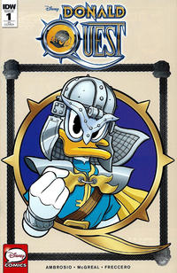 Cover Thumbnail for Donald Quest (IDW, 2016 series) #1 [Retailer Incentive Cover]