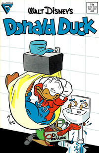 Cover Thumbnail for Donald Duck (Gladstone, 1986 series) #249 [Direct]