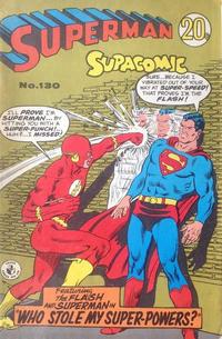 Cover Thumbnail for Superman Supacomic (K. G. Murray, 1959 series) #130