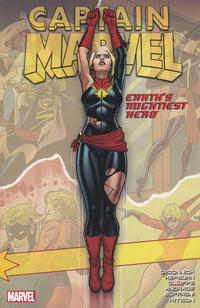 Cover for Captain Marvel: Earth's Mightiest Hero (Marvel, 2016 series) #2