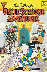 Cover Thumbnail for Walt Disney's Uncle Scrooge Adventures (Gladstone, 1987 series) #19 [Newsstand]