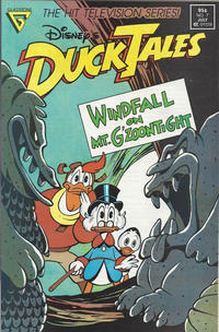 Cover Thumbnail for Disney's DuckTales (Gladstone, 1988 series) #7 [Newsstand]