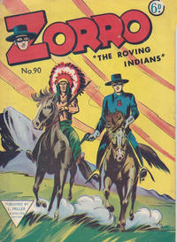 Cover Thumbnail for Zorro (L. Miller & Son, 1952 series) #90