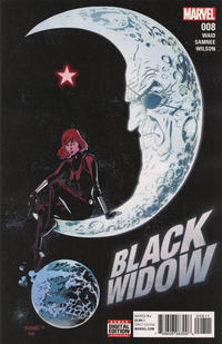 Cover Thumbnail for Black Widow (Marvel, 2016 series) #8