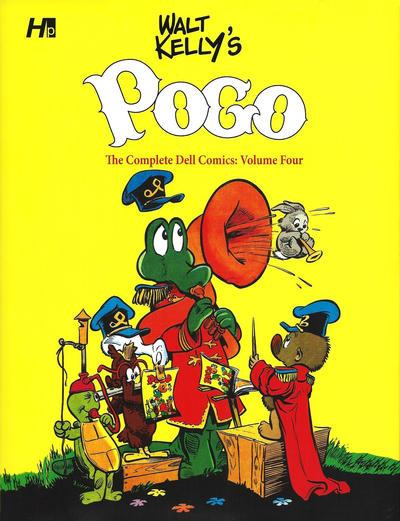 Cover for Walt Kelly's Pogo (Hermes Press, 2014 series) #4