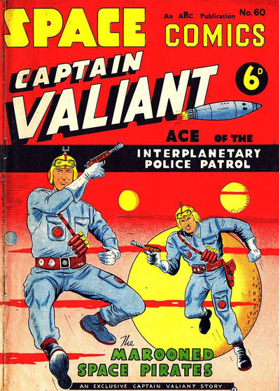 Cover for Space Comics (Arnold Book Company, 1953 series) #60