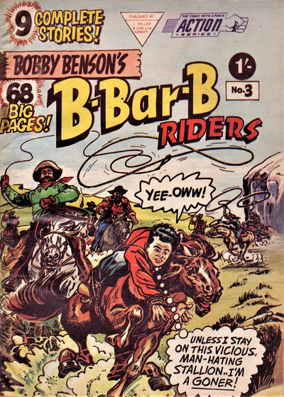 Cover for Action Series (L. Miller & Son, 1958 series) #3